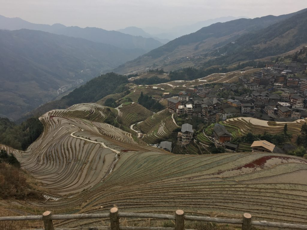 Rice Terraces in Guilin, China