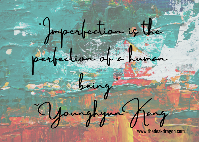 Day6 YoungK quote: imperfection