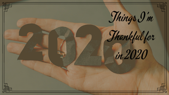 Things I'm Thankful for in 2020